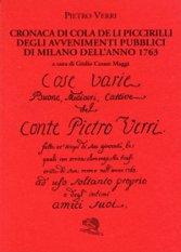 Cronaca di Cola de li Piccirilli degli avvenimenti pubblici di Milano dell'anno 1763