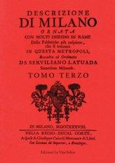Descrizione di Milano III (Rilegato)