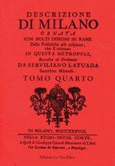Descrizione di Milano IV (Rilegato)
