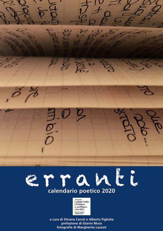 Erranti - Calendario poetico 2020