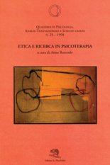 Etica e ricerca in psicoterapia
