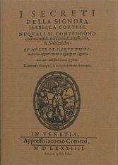 I segreti della signora Isabella Cortese,