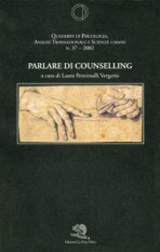 Parlare di counselling
