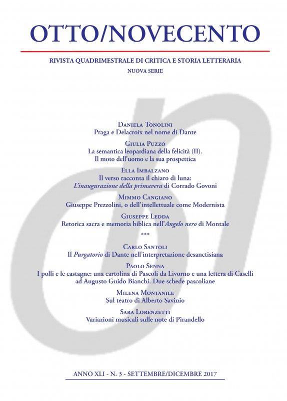 Otto/Novecento - ANNO XLI N. 3/2017