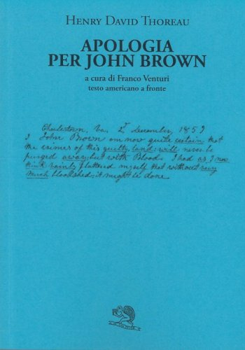 Apologia per John Brown