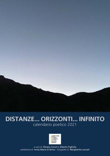 Distanze... orizzonti... infinito - Calendario poetico 2021