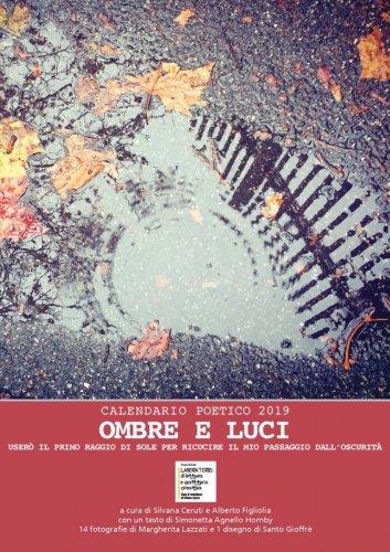 Ombre e luci - Calendario poetico 2019