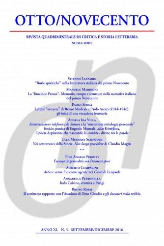 Otto/Novecento - ANNO XL N. 3/2016