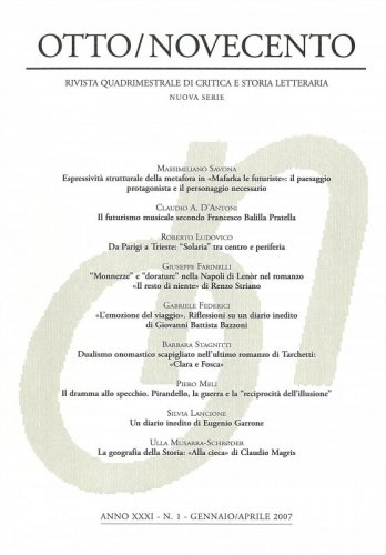 Otto/Novecento - ANNO XXXI N. 1/2007