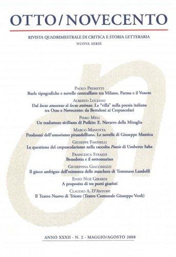 Otto/Novecento - ANNO XXXII N.2/2008