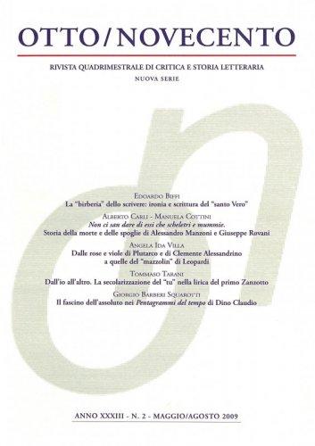 Otto/Novecento - ANNO XXXIII N. 2/2009