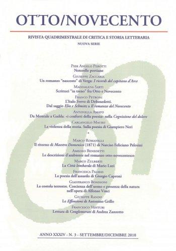 Otto/Novecento - ANNO XXXIV N. 3/2010