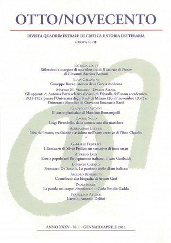 Otto/Novecento - ANNO XXXV N. 1/2011