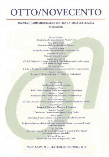 Otto/Novecento - ANNO XXXV N. 3/2011