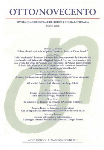 Otto/Novecento - ANNO XXXV N. 2/2011