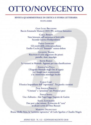 Otto/Novecento - ANNO XLII N. 1-2/2018