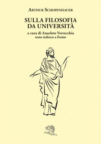 Sulla filosofia da università