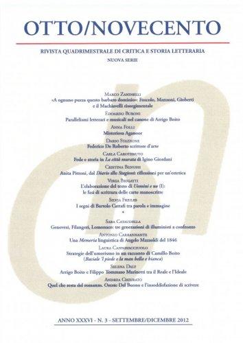 Otto/Novecento - ANNO XXXVI N. 3/2012