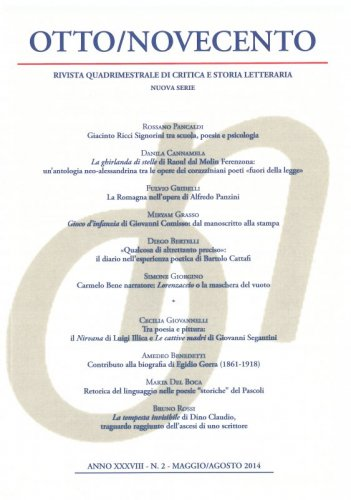 Otto/Novecento - ANNO XXXVIII N. 2/2014